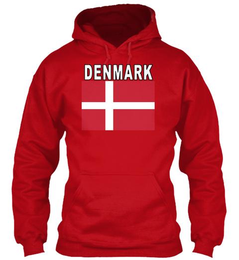 Denmark Red Hot Chilli T-Shirt Front