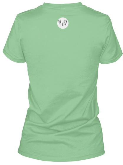 Turtle Love  Leaf  T-Shirt Back