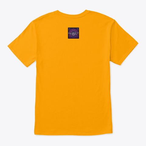 Sunny Daze Gold T-Shirt Back