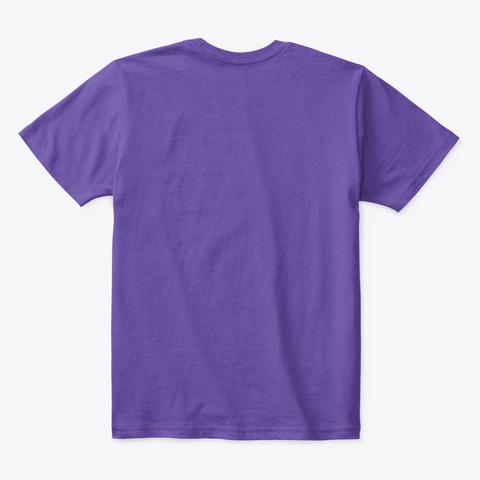Frank Ostein!  Purple  T-Shirt Back