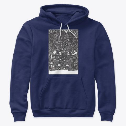The Embryo Art Association Un Ltd. Navy T-Shirt Front