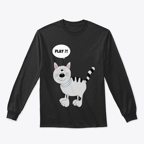 Cat Kf84u Black T-Shirt Front
