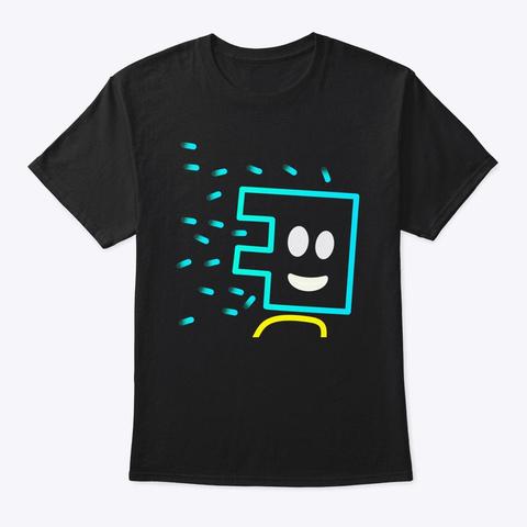 El K Electric Key Head Man Black T-Shirt Front