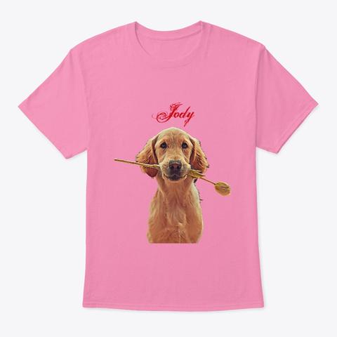 Costumized Pet Memorial Pink T-Shirt Front