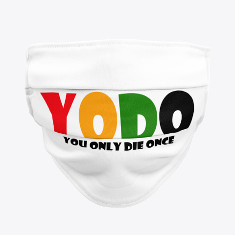 Yodo Face Mask Standard T-Shirt Front