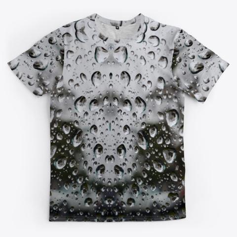 Rain Photo Art Standard T-Shirt Front