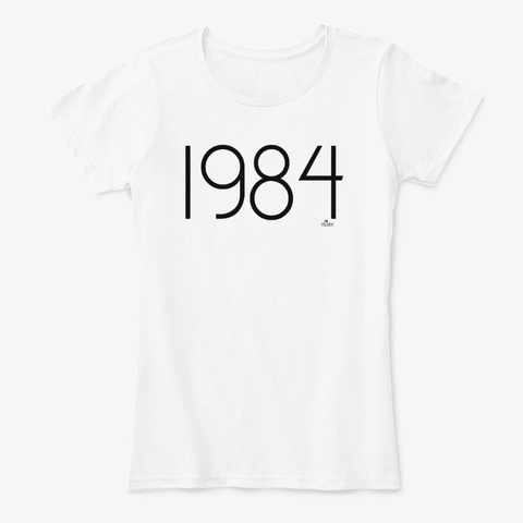 Palmer   1984 White T-Shirt Front