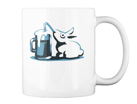 O/I. White Mug Back