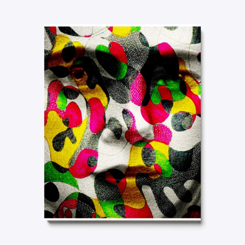 Abstract Face 2 Standard T-Shirt Front