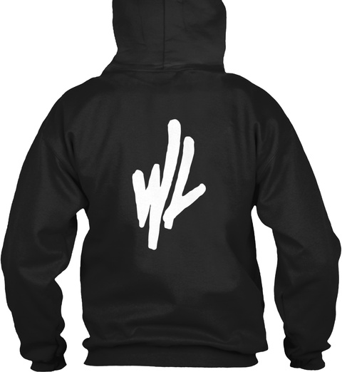 Wl Black Sweatshirt Back