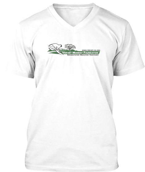 Vmf Official Logo White T-Shirt Front