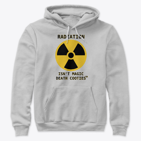 Radiation Athletic Heather T-Shirt Front