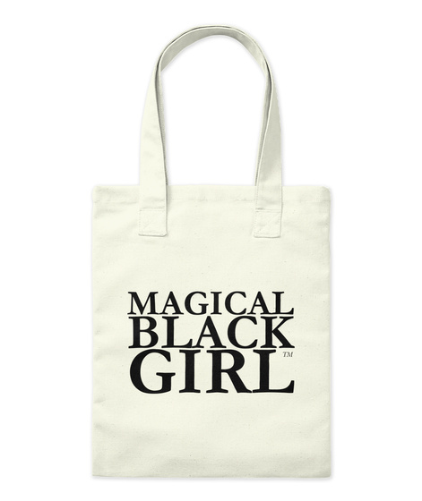 Magical Black Girl Natural Tote Bag Front