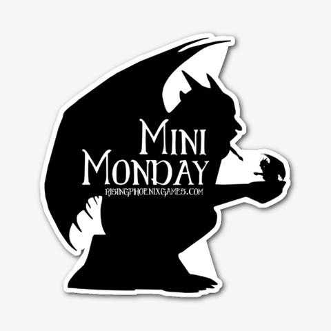 Mini Monday Gargoyle Standard T-Shirt Front