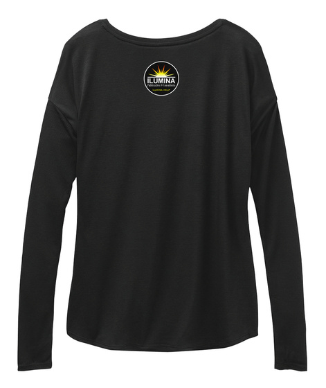 Blusa Namastê Black Long Sleeve T-Shirt Back