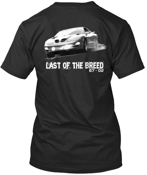 Last Of The Breed 67 02 Black T-Shirt Back