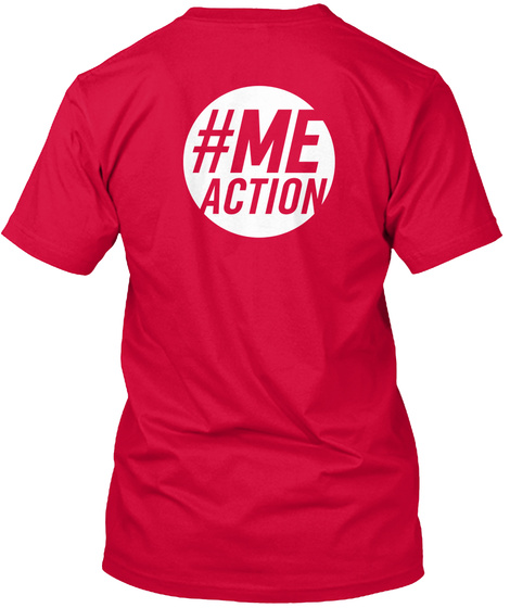 # Me Action Red T-Shirt Back