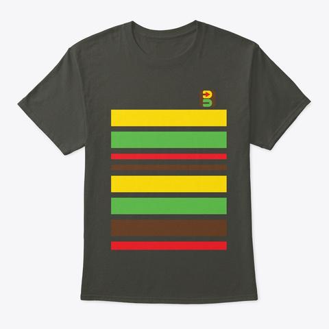 Bankjim Stripe Smoke Gray T-Shirt Front