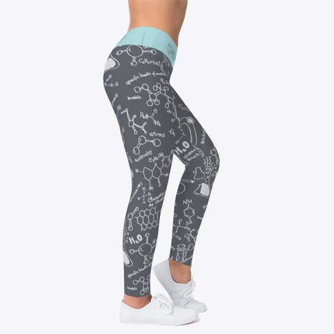 Chemistry Legging Gray Standard T-Shirt Right