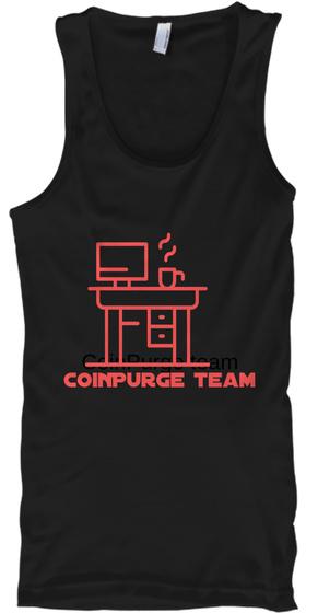 Coin Purge Team Coin Purge Team Black T-Shirt Front