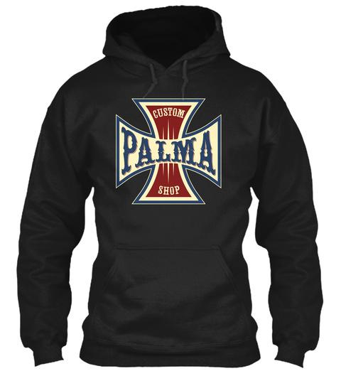 Palma Custom Shop Black T-Shirt Front