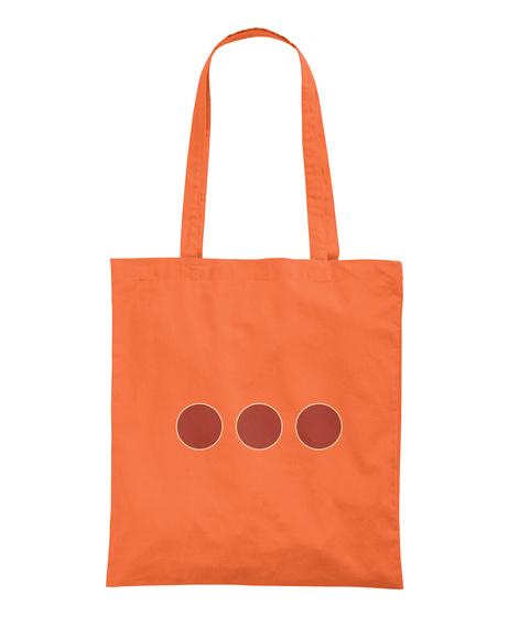Sac Randonnée   Deux Couleurs Pour L'été Orange T-Shirt Back