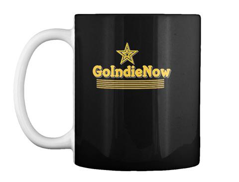Golndienow Black Mug Front