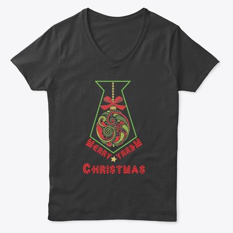 Christmas T Shirts Black T-Shirt Front