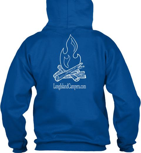 Longislandcampers.Com Royal Camiseta Back