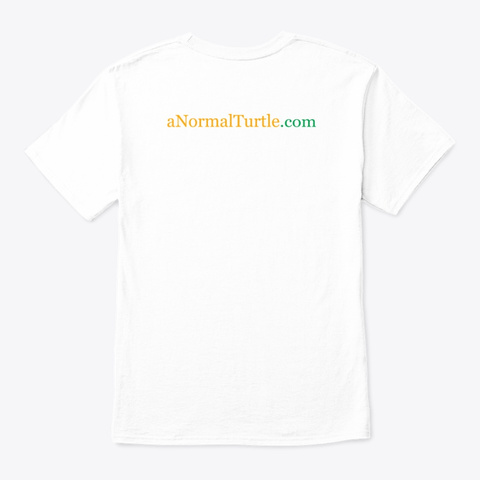She/Her/Hers White T-Shirt Back