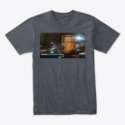 Rbg Branded T Shirt Vauxhall Heavy Metal T-Shirt Front