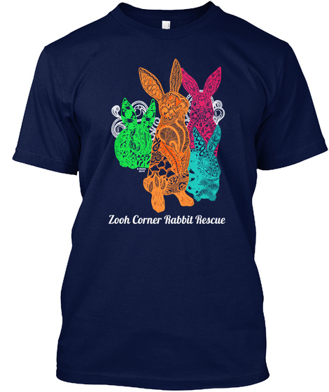 Zooh Corner Rabbit Rescue Rescue Love Unisex Tshirt