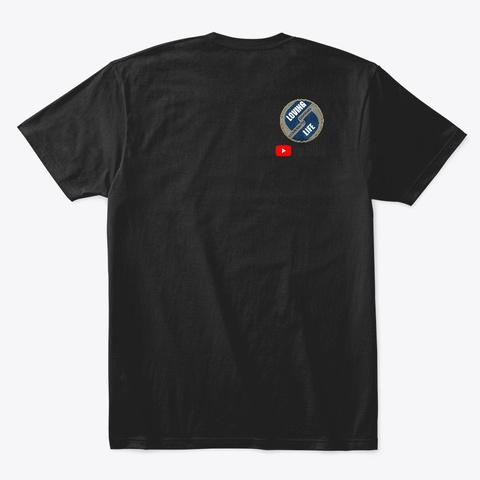 Bonny Hut Originals   Elephant Black T-Shirt Back