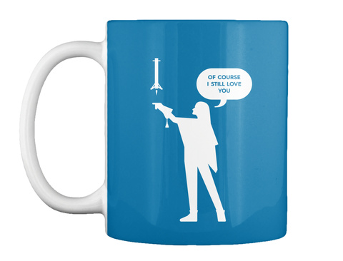 Falconer 1 Woman Mug [Int] #Sfsf Royal Blue Mug Front