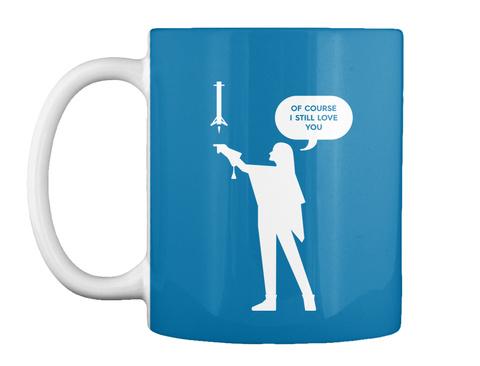 Falconer 1 Woman Mug [Int] #Sfsf Royal Blue Mug Front