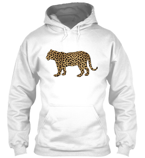 Toddler Tiger With Cheetah Print T Shirt White T-Shirt Front