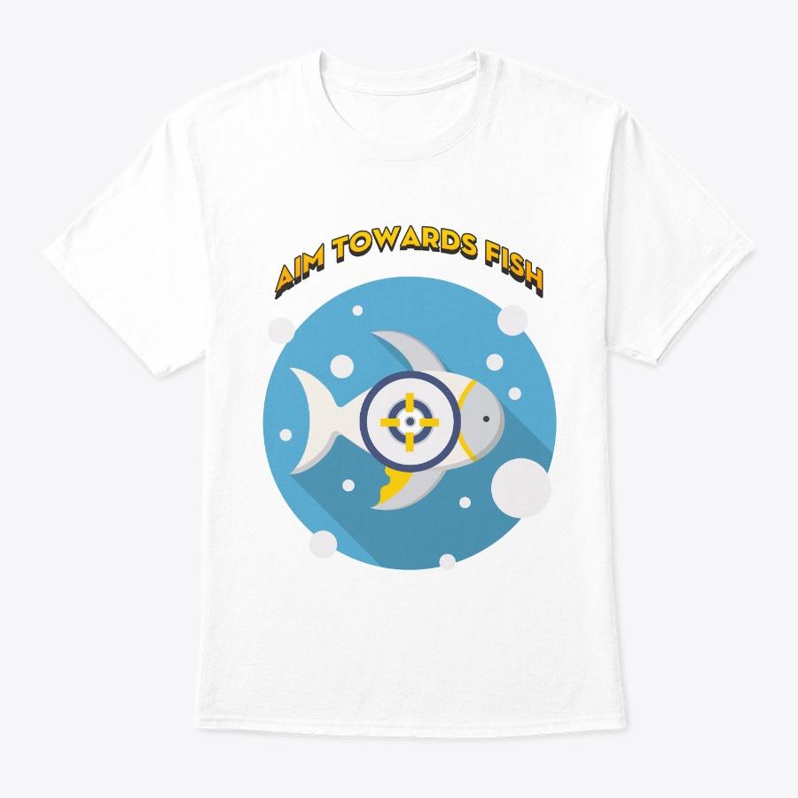 Aim Towards Fish T-shirt 2019 Unisex Tshirt