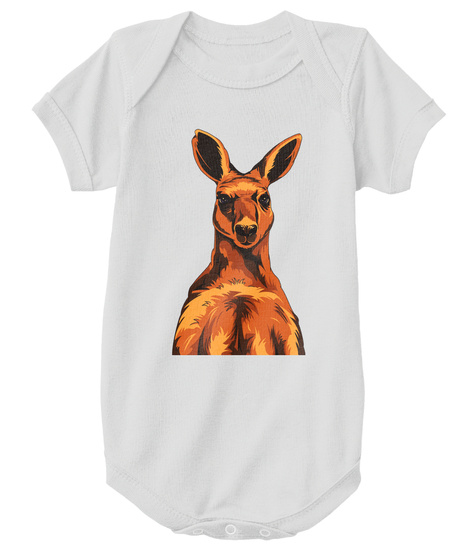 Atheist Roo Onesie  Athletic Heather T-Shirt Front