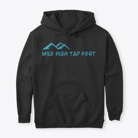 #Mhctf Every Day I'm Shufflin' Black T-Shirt Front