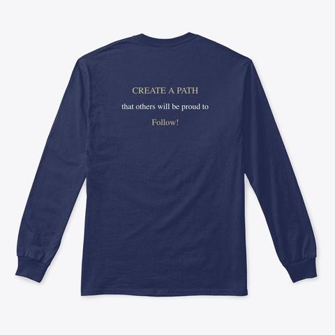 N/A Navy T-Shirt Back