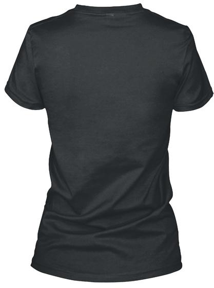 Princesse Et Une Aide Soignante Black T-Shirt Back