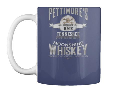 Moonshine Whiskey Dk Navy T-Shirt Front