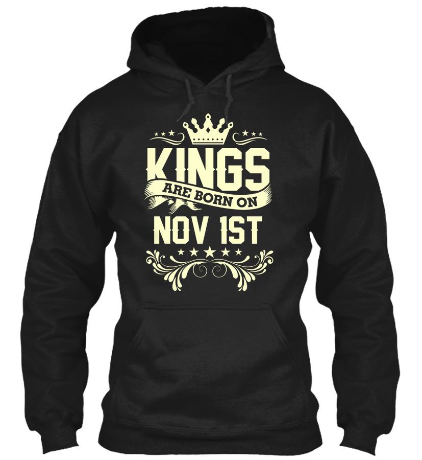 King Born On Nov 1st Birthday shirt Unisex Tshirt