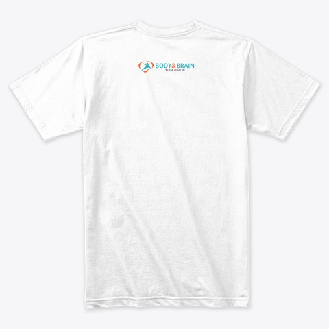 Get Bright Merch White T-Shirt Back