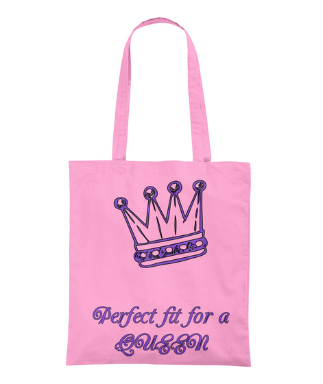 Perfect Fit For A Queen Classic Pink T-Shirt Back