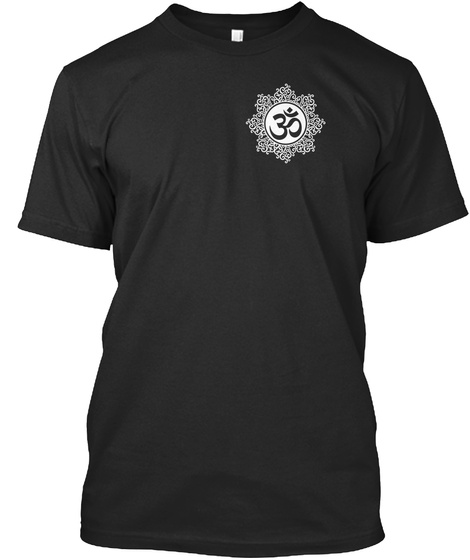 Watch Yours Thoughts  Black T-Shirt Front