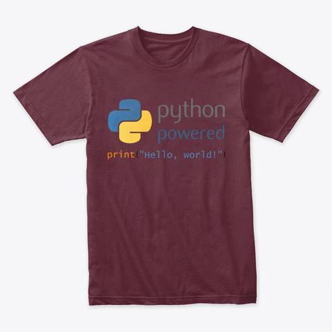 python powered hello world