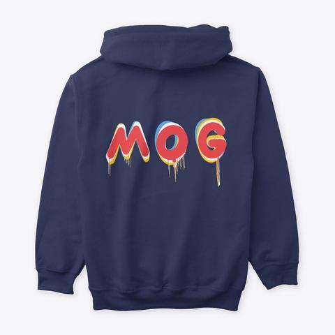 M.O.G (Man Of God) Navy T-Shirt Back