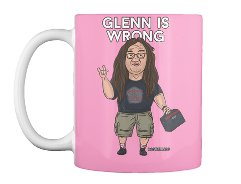 Glenn Is Wrong Pink Camo T-Shirt Front