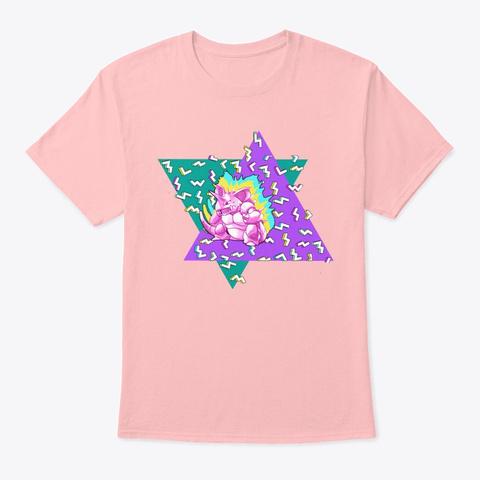 90s Nerdoking Pale Pink T-Shirt Front